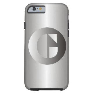 "Acero pulido ""G "" Funda Para iPhone 6 Tough"