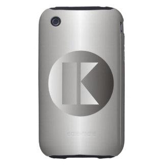 """Acero pulido """"K """" Carcasa Resistente Para iPhone"""