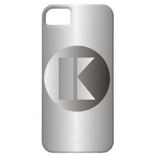 "Acero pulido ""K "" Funda Para iPhone SE/5/5s"