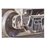 Acero que golpea el acero mantel individual
