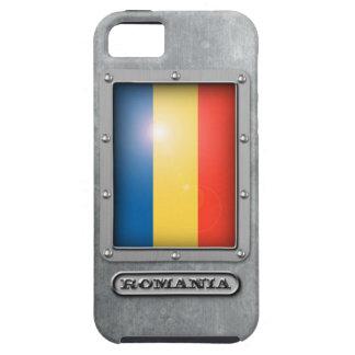 Acero rumano funda para iPhone SE/5/5s