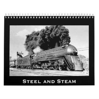 Acero y vapor - personalizable por año calendario