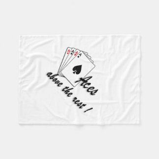 Aces Above the Rest Fleece Blanket