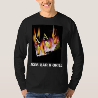 ACES BAR & GRILL Poker shirt by Teo Alfonso