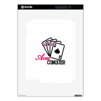 Aces Conquer iPad 2 Skins