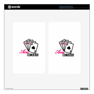 Aces Conquer Skins For Kindle Fire