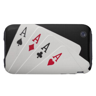 Aces Four of a Kind Tough iPhone 3 Cover