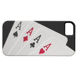 Aces Four of a Kind iPhone 5 Covers