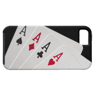 Aces Four of a Kind iPhone SE/5/5s Case