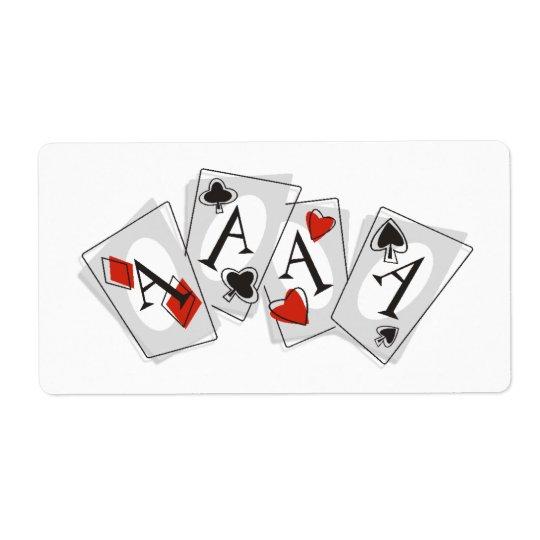 Aces High Label