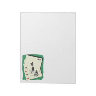 Aces High Memo Note Pads