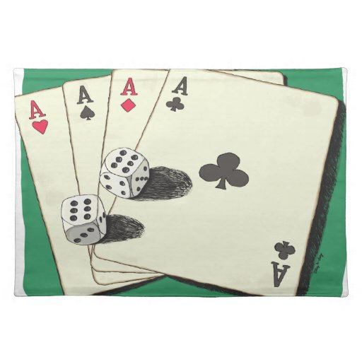 Aces High Placemats