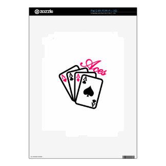 Aces iPad 2 Skins