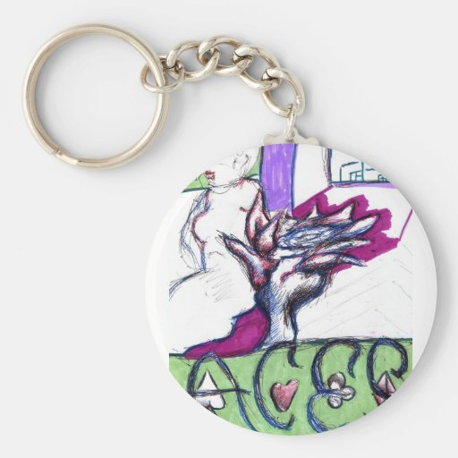 Aces Keychains