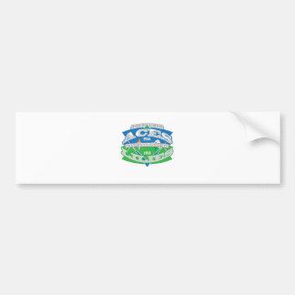 Aces-Lilies Logo Souvenier Bumper Sticker