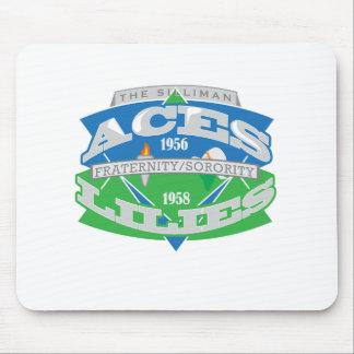 Aces-Lilies Logo Souvenier Mousepad