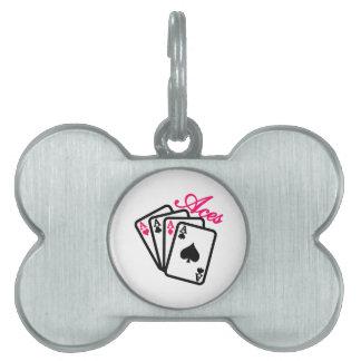 Aces Pet Tags