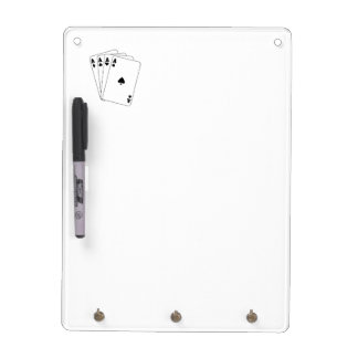 Aces Poker Hand Dry-Erase Board