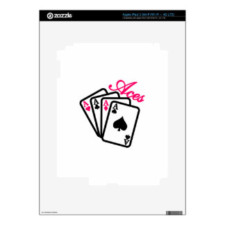 Aces Skin For iPad 3