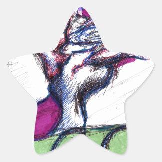 Aces Star Sticker
