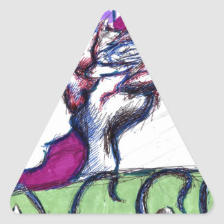 Aces Triangle Sticker
