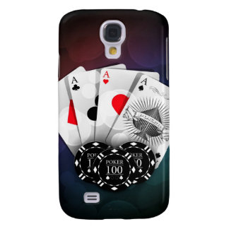 Aces with chips samsung galaxy s4 case
