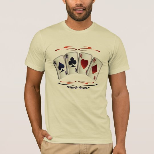 Aces with design Shirt