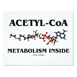 Acetyl-CoA Metabolism Inside (Chemical Molecule) Card