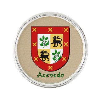 Acevado Historical Shield Pin