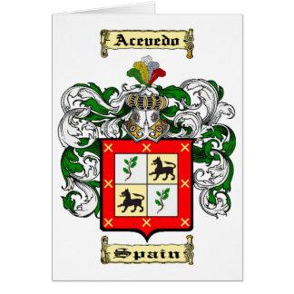 Acevedo Card