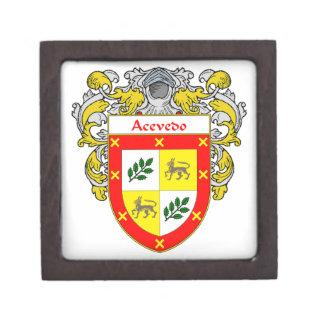 Acevedo Coat of Arms/Family Crest Gift Box