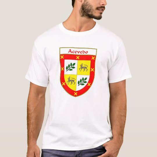 Acevedo Coat of Arms/Family Crest T-Shirt