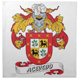 Acevedo Family Crest Cloth Napkin