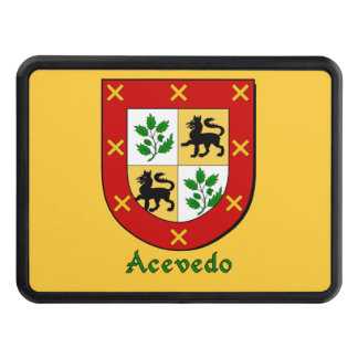 Acevedo Family Shield Trailer Hitch Cover