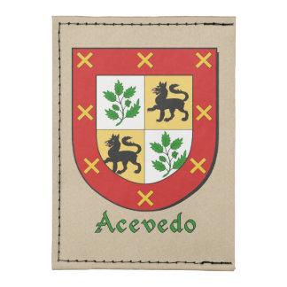 Acevedo Historical Arms Shield Tyvek® Card Case Wallet