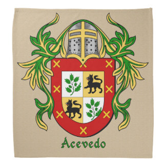 Acevedo Historical Coat of Arms Bandana
