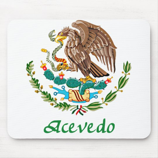 Acevedo Mexican National Seal Mouse Pad