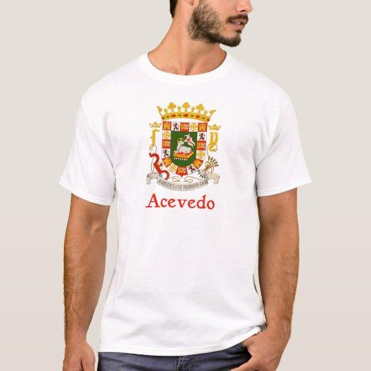 Acevedo Shield of Puerto Rico T-Shirt