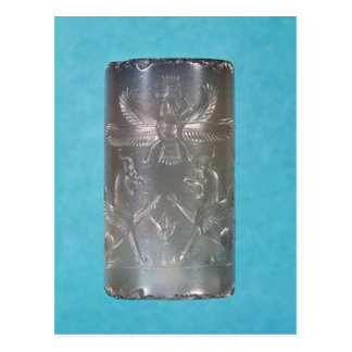 Achaemenid cylinder seal postcard