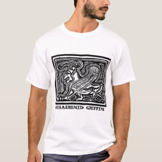 Achaemenid Griffin tee by AncientAgesPrints