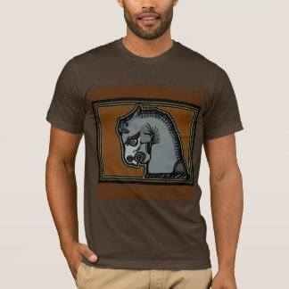 Achaemenid Horse by AncientAgesPrints T-Shirt