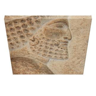 Achaemenid Soldier Canvas Print