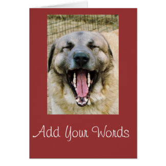 Achai- any occasion-add your words card