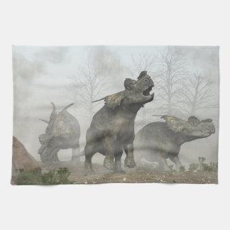Achelousauruses Toalla