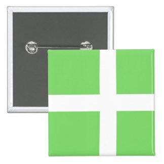 Achen Greenland Proposal, Greenland flag Pinback Button