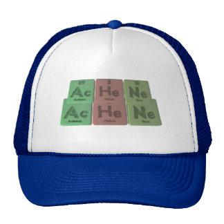 Achene-Ac-He-Ne-Actinium-Helium-Neon Trucker Hat