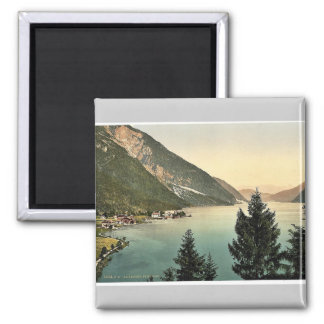 Achensee, Pertisau, Tyrol, Austro-Hungary rare Pho 2 Inch Square Magnet