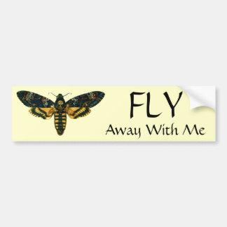 Acherontia atropos bumper sticker
