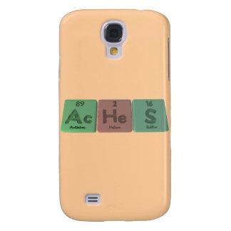 Aches-Ac-He-S-Actinium-Helium-Sulfur Galaxy S4 Cover