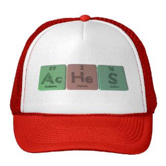 Aches-Ac-He-S-Actinium-Helium-Sulfur Trucker Hat